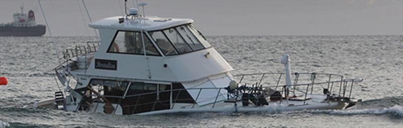 From luxury launch to unsalvageable wreck - photo © Bay of Plenty Times