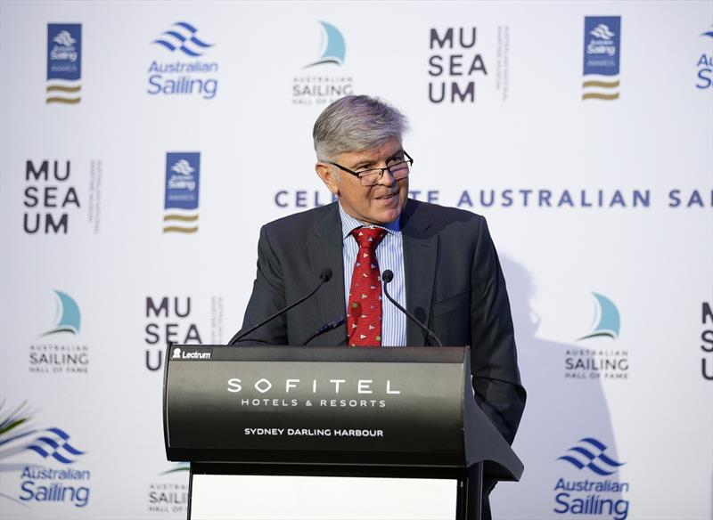 Glenn Bourke during the 2019 Australian Sailing Awards Dinner at the Soffitel, Darling Harbour - photo © Gregg Porteous