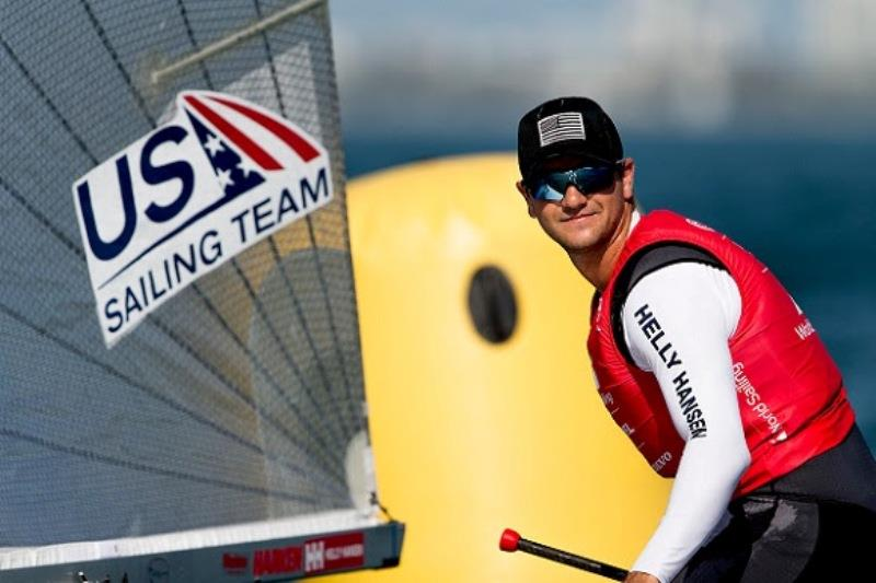 Luke Muller - US Sailing Team - photo © Pedro Martinez / Sailing Energy / World Sailing