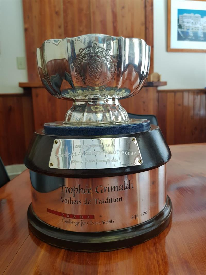 Colin Clarke Memorial Trophy - Spirit of Bermuda Charity Rally - photo © Sailing Yacht Research Foundation