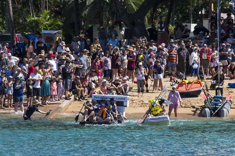 Beer Can Regatta competitors cheered on by the crowd - SeaLink Magnetic Island Race Week  - photo © Andrea Francolini
