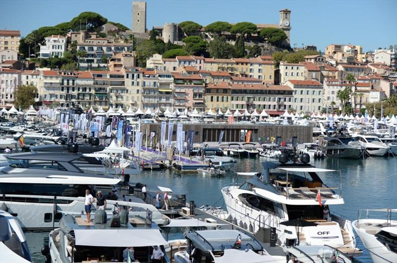 Cannes Yachting Festival |Le premier salon nautique international à rouvrir ses portes le 8 septembre