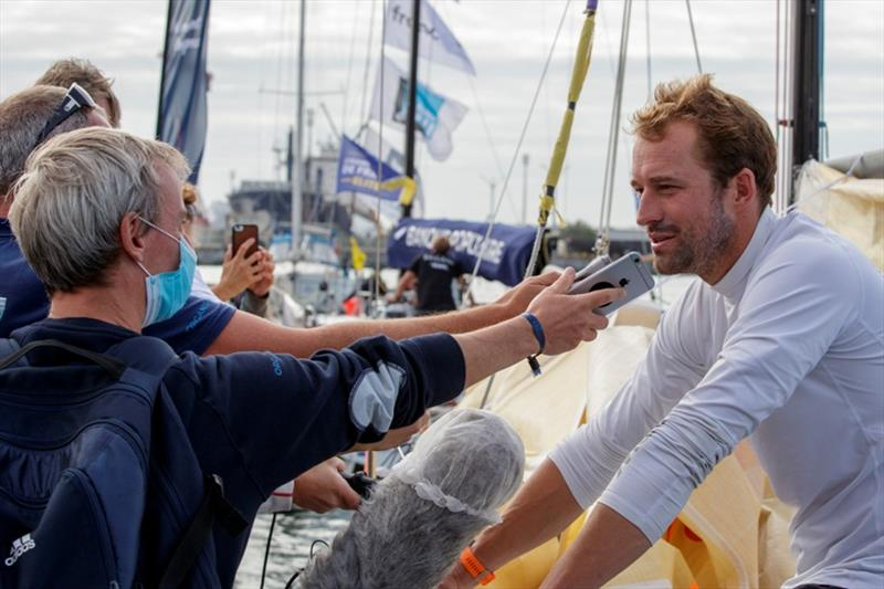 Sam Goodchild (Leyton) - La Solitaire du Figaro Stage 2 - photo © Alexis Courcoux