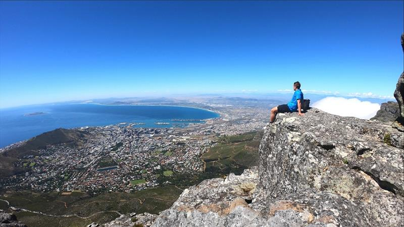 Cape Town and the Table Mountain - photo © Clipper Race
