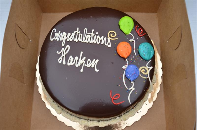 Harken ownership celebration cake - photo © Harken