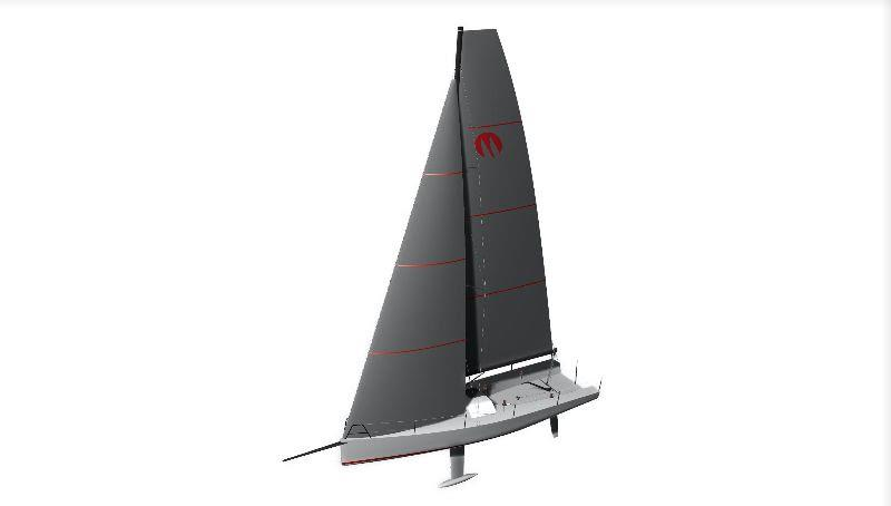 Port View: With its lightweight hull this Andrews-design boat will be fast and fun. - photo © Moore Sailboats