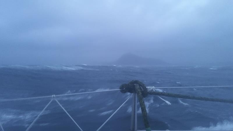 And that would be Cape Horn as seen by Lisa... photo copyright LisaBlairSailsTheWorld taken at