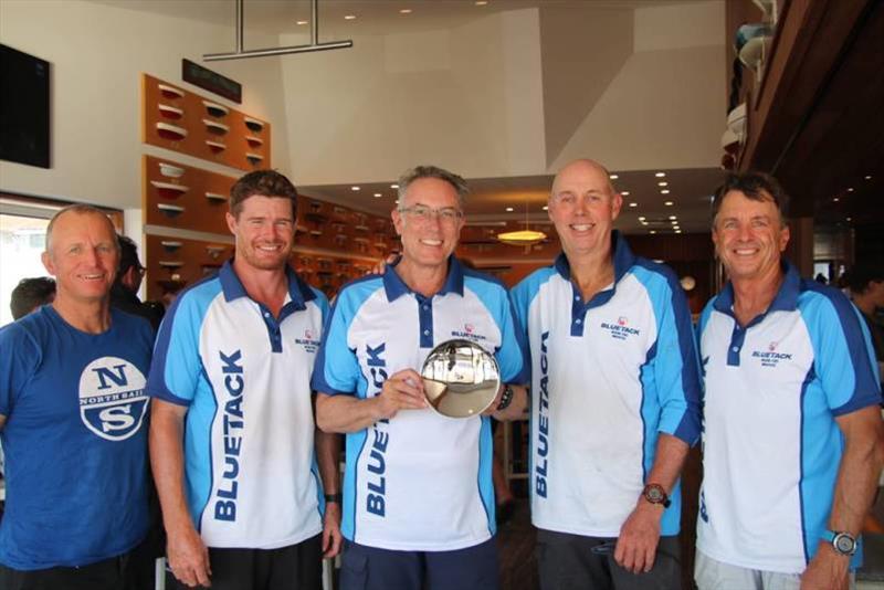 Winners: Alby Pratt, Tom Slingsby, Patrick Delany, Brent Lawson and Paul Westlake - Farr 40 One Design Trophy, day 2 - photo © Farr 40 Australia