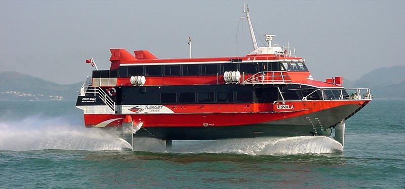 Boeing 929 Jetfoil passenger ferry - photo © Photo supplied