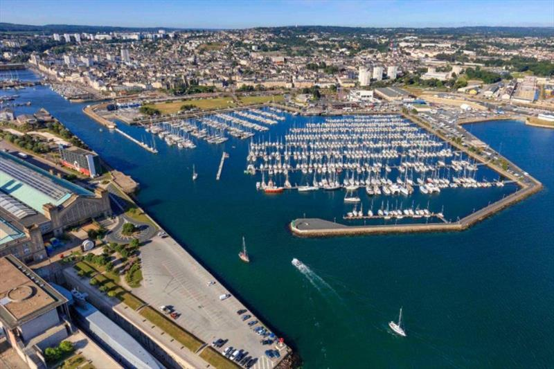 Cherbourg ready to welcome the world's largest offshore race fleet. - photo © J/ Houyvet