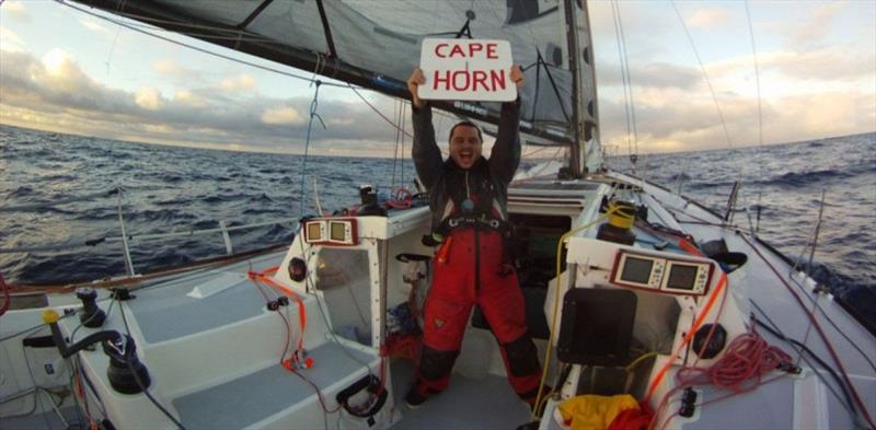 Marco Nannini - Cape Horn 2012 - photo © Global Solo Challenge