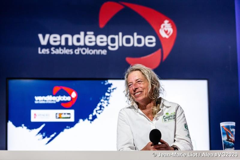 Merron talks of her Vendée Globe - photo © Vendée Globe
