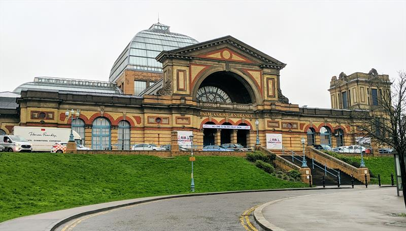 Alexandra Palace in London hosted the 2020 RYA Dinghy Show - photo © Mark Jardine