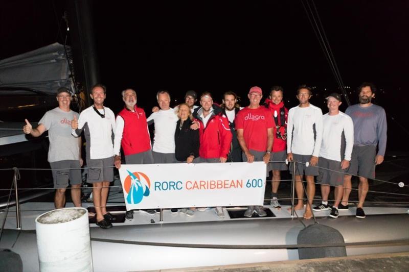 MOCRA winners - Adrian Keller's Nigel Irens-designed catamaran Allegra - 2020 RORC Caribbean 600 - photo © RORC / Arthur Daniel