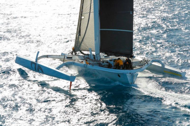 It was superb that Jason Carroll's MOD 70 Argo (USA) made it to the startline after their capsize earlier in the week - RORC Caribbean 600 photo copyright RORC / Arthur Daniel taken at Royal Ocean Racing Club and featuring the MOD70 class