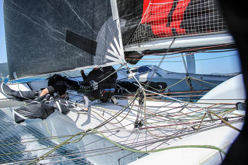 Plenty of sheets and controls - Beau Geste - Day 5 - Hamilton Island Race Week, August 23, 2019 - photo © Richard Gladwell