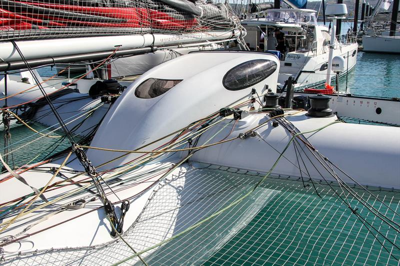 Nacelle covering the main access hatch - Beau Geste - Day 5 - Hamilton Island Race Week, August 23, 2019 - photo © Richard Gladwell