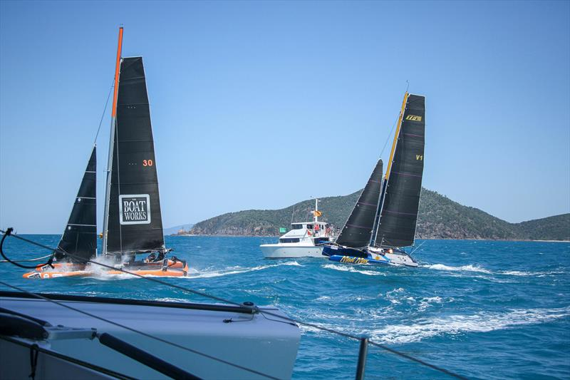 Extreme 40's - Start Race 1- Beau Geste - Day 5 - Hamilton Island Race Week, August 23, 2019 - photo © Richard Gladwell
