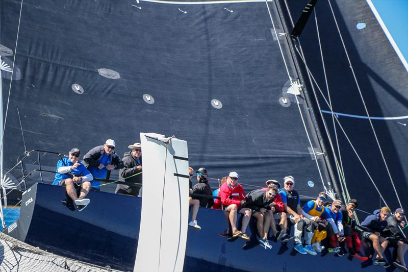 No Limits cuts very close heading for the finish - Beau Geste - Day 5 - Hamilton Island Race Week, August 23, 2019 - photo © Richard Gladwell