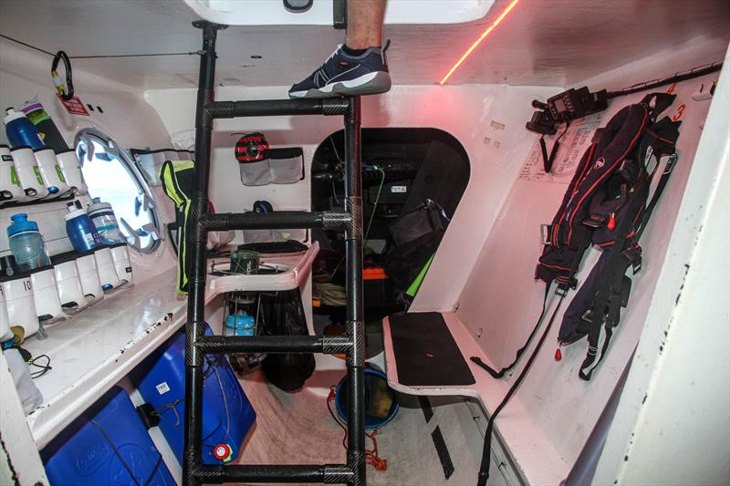 Down below looking aft at the galley area - Beau Geste - Day 5 - Hamilton Island Race Week, August 23, 2019 - photo © Richard Gladwell