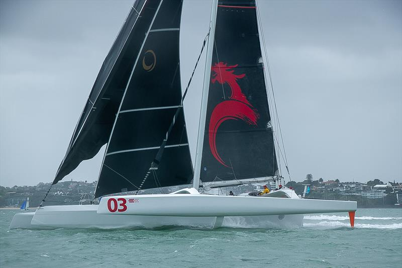 Beau Geste (Pat Kong) (Hong Kong) - PIC Coastal Classic - Start - Waitemata Harbour - October 25, . She took almost 13 minutes off the race record. - photo © Richard Gladwell / Sail-World.com