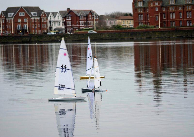 RC Laser Winter Series at Southport, West Lancashire YC photo copyright Amy Brown taken at West Lancashire Yacht Club and featuring the Model Yachting class