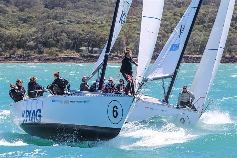 Megan Thomson 2020 - Melinda Henshaw - 2020 NZ Womens Keelboat Nationals - photo © Andrew Delves/RNZYS