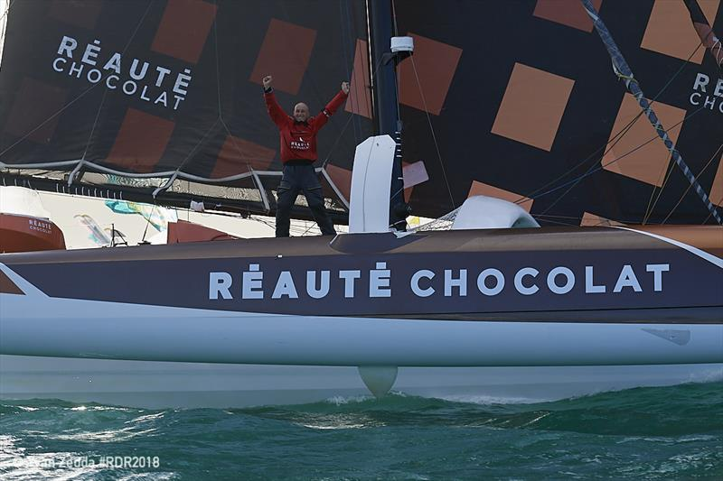 French skipper, Armel Tripon finishes in first place in the the Multi50 class - Route du Rhum-Destination Guadeloupe - photo © Yvan Zedda