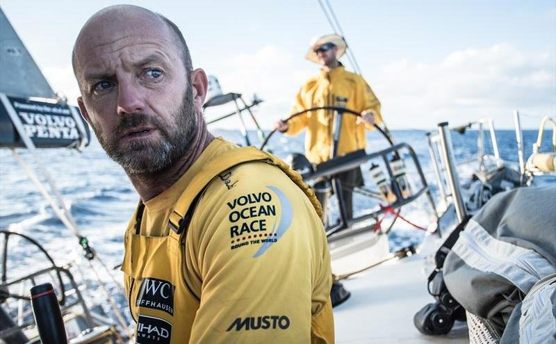 Ian Walker, skipper of Abu Dhabi Ocean Racing - photo © Matt Knighton / Abu Dhabi Ocean Racing / Volvo Ocean Race