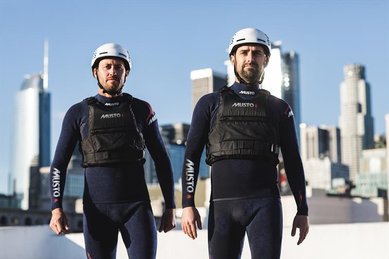 Stars + Stripes Partner with Musto for the 36th America's Cup - photo © Matthew Brush