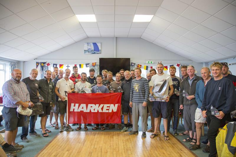 Musto Skiff UK Nationals at Castle Cove SC prize giving - photo © Tim Olin / www.olinphoto.co.uk