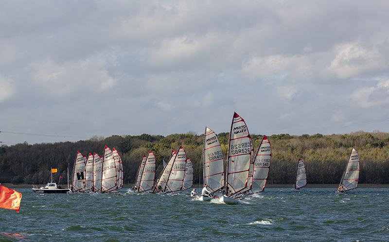Musto Skiffs in the Ovington Inland Championships at Grafham - photo © Tim Olin / www.olinphoto.co.uk