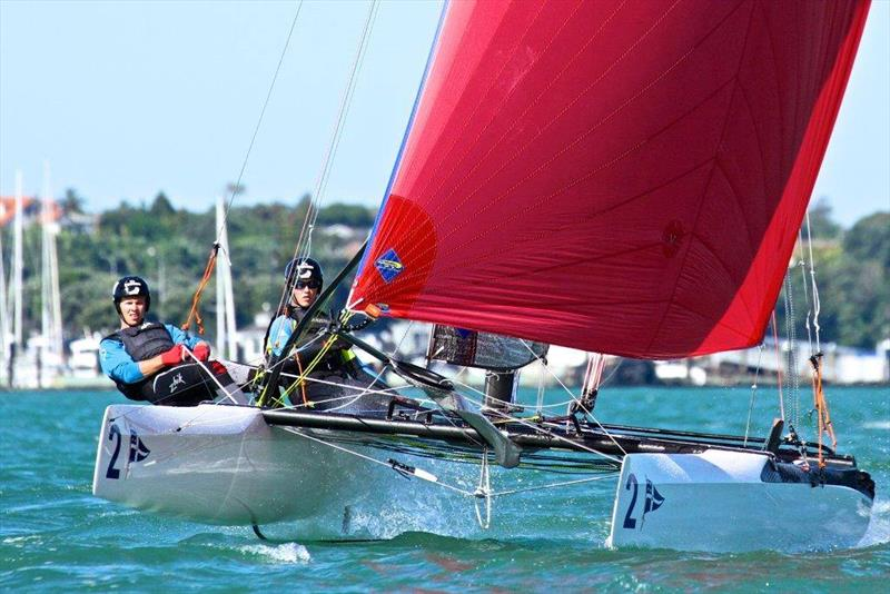 Nacra 20's  will be used for the inaugural Foiling Match racing Championship in mid-January 2020 - photo © Royal New Zealand Yacht Squadron