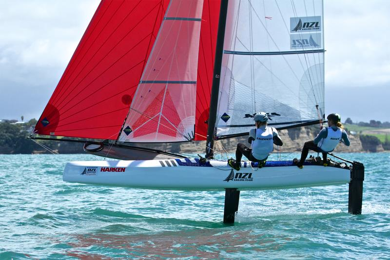 Oceanbridge NZL Sailing Regatta, Day 3, February 5, 2018, Murrays Bay SC - photo © Richard Gladwell
