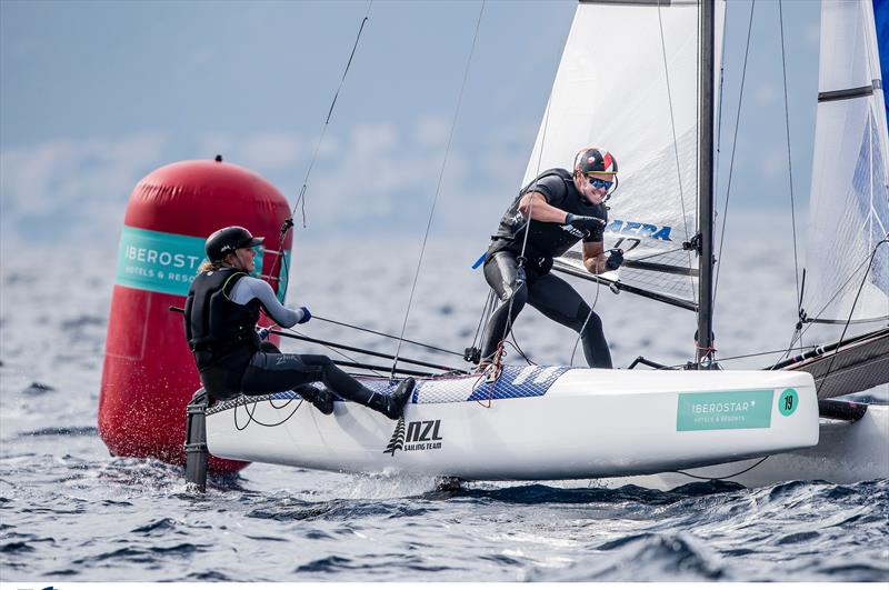 Gemma Jones - Nacra 17 - NZL Sailing Team - Trofeo Princesa Sofia Iberostar - Day 2 - April 2, 2019 - photo © Sailing Energy