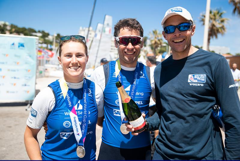 Nacra 17 Silver for John Gimson and Anna Burnet at the Hempel World Cup Series Final - photo © Sailing Energy / World Sailing