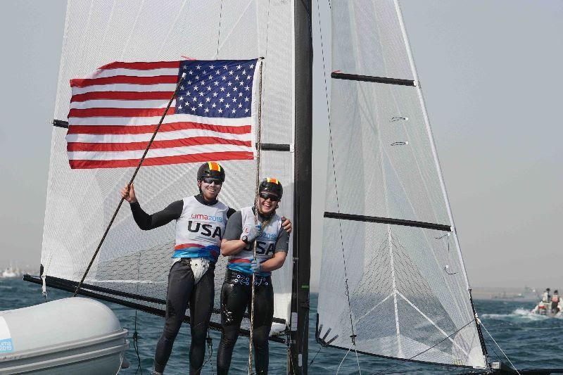 Riley Gibbs and Anna Weis - 2019 Pan American Games Lima - photo © US Sailing