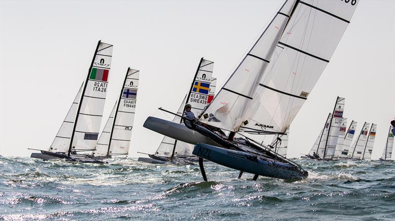 Day 1 of Ready Steady Tokyo - photo © Sailing Energy / World Sailing