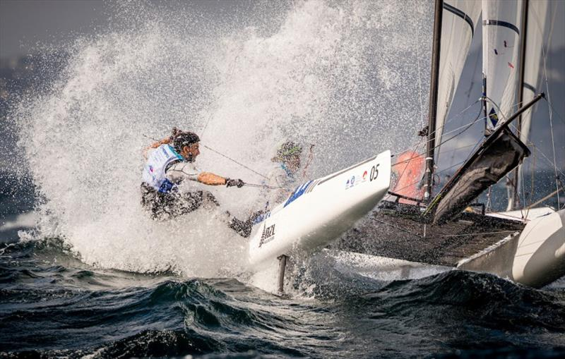 Nacra 17 - photo © Jesus Renedo / Sailing Energy / World Sailing