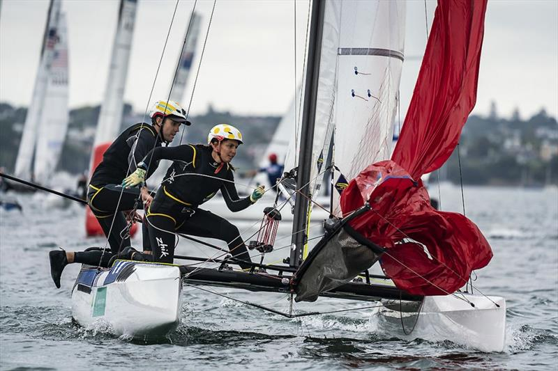 Australian Team at 2020 49er and Nacra 17 World Championships - photo © Australian Sailing Team