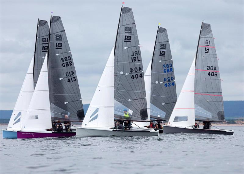 National 18 UK and Ireland Championships at Royal Findhorn Yacht Club - photo © RFYC