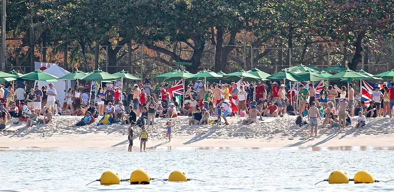 A Beach Hub  separate from the main sailing venue will be a feature of the 2024 Olympics - photo © Richard Gladwell