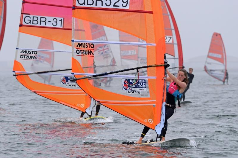 Islay Watson in action - photo © Rick Tomlinson / RYA