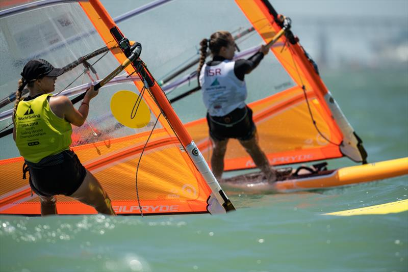 NZL Womens RS:X - Youth World Sailing Championships, July 2018, Corpus Christi, Texas - photo © Jen Edney / World Sailing