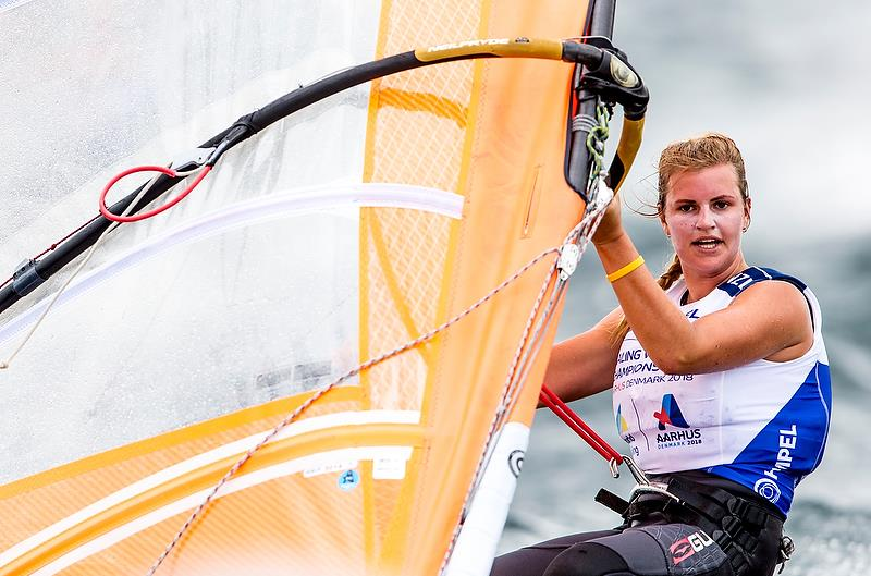 Veerle ten Have (NZL) - RS:X - Day 4 - Hempel Sailing World Championships, Aarhus - August 2018 - photo © Sailing Energy / World Sailing