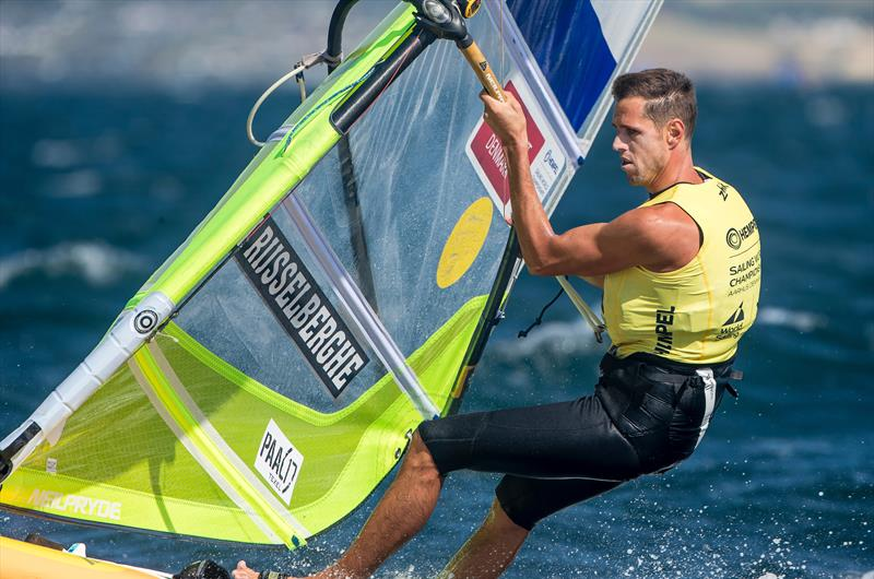 Dorian van Rijsselberghe (NED) - RS:X - Day 10 - Hempel Sailing World Championships, Aarhus, Denmark, August 2018 - photo © Sailing Energy / World Sailing