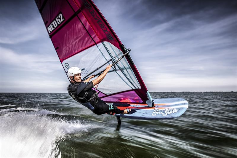Casper Bouman, windfoil surfing (NED) - 2019 Medemblik Regatta - Day 3 - photo © Sander van der Borch