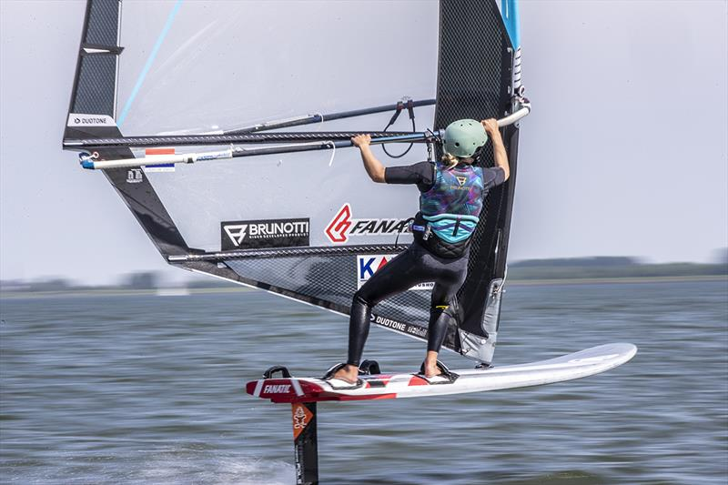 Lilian de Geus, Windfoil surfing (NED) - 2019 Medemblik Regatta - Day 3 - photo © Sander van der Borch