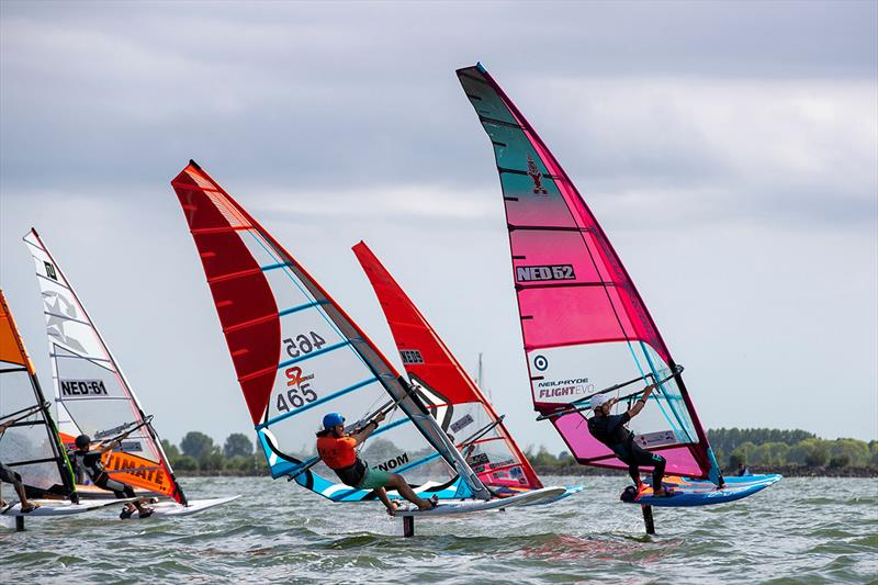 Showcasing Windfoil Surfing - Medemblik Regatta Nautical Festival 2019 - photo © Sander van der Borch