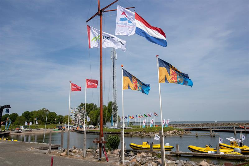Event area Medemblik Regatta 2019 - photo © Sander van der Borch